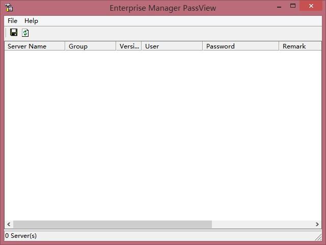 Enterprise Manager PassView